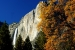 Fall Yosemite Falls view