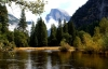 2 Swollen Merced river after storm